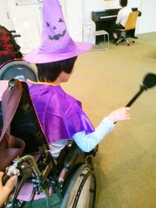 紫色の魔女