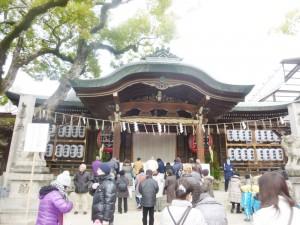 石切神社 本殿