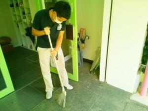 掃除、手入れは入念です!