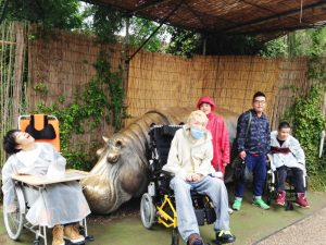 天王寺動物園のかばと