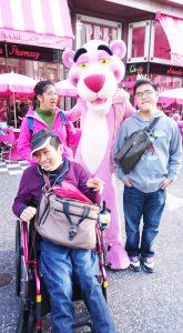 ピンクパンサーとスマイル!