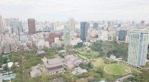東京タワーのうえから