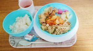 岡田さん美味しい食事♪