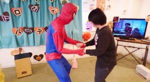 スパイダーさんとダンス