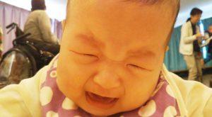 泣き姿も可愛いい赤ちゃん